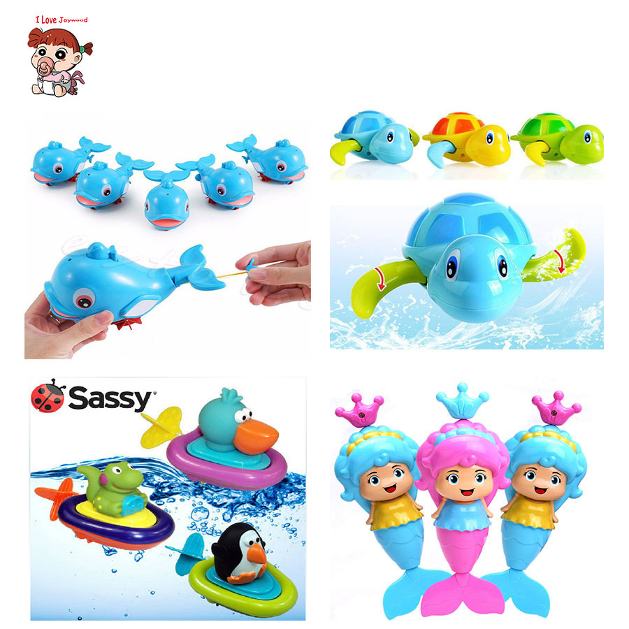1pcs New Cute Animal Whale Mermaid Crocodile Baby Shower Swimming Pool Accessories For Kids