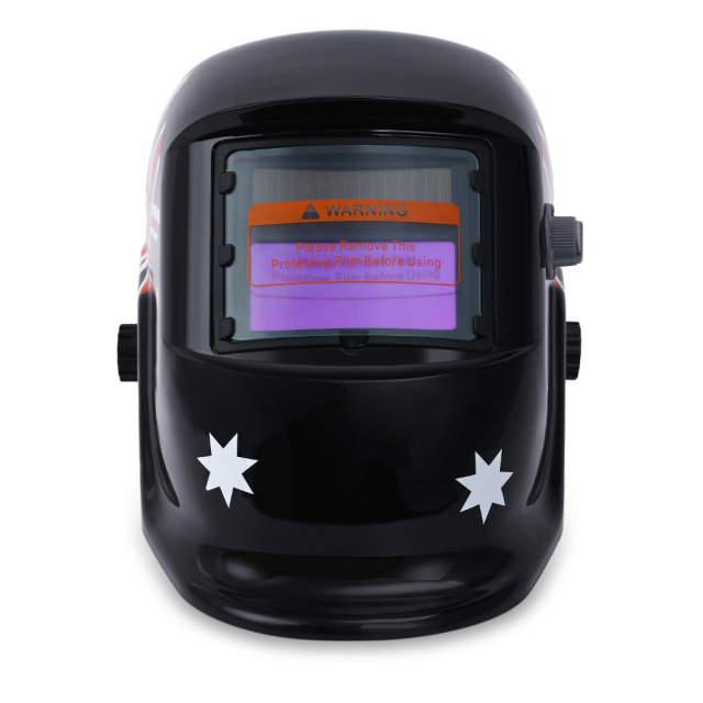British Flag Mask Auto Darken Protective Welding Mask/Helmet/Welder Solar Energy Electrical Welding Helmet Automatic Variable B