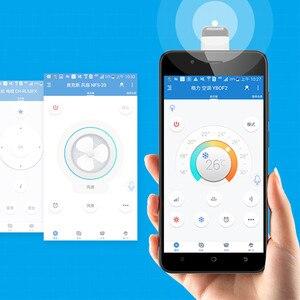 Image 2 - 2020 evrensel IR ev aletleri kablosuz kızılötesi uzaktan kumanda adaptörü OTG akıllı telefon (mikro USB ve tip c bağlantı noktası)