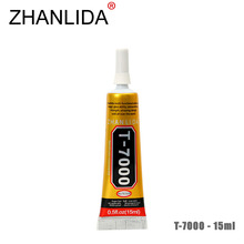 ZHANLIDA T-7000 15ml Epoxy Resin Black Strong Glue Shell Bamboo Craft Products Headset Decoration Liquid T7000 Glue Gun