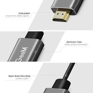 Image 5 - QGeeM HDMI to Mini DisplayPort 컨버터 어댑터 케이블 4K x 2K HDMI to Mini DP 어댑터 (HDMI 장착 시스템 용) Mini DP to HDMI