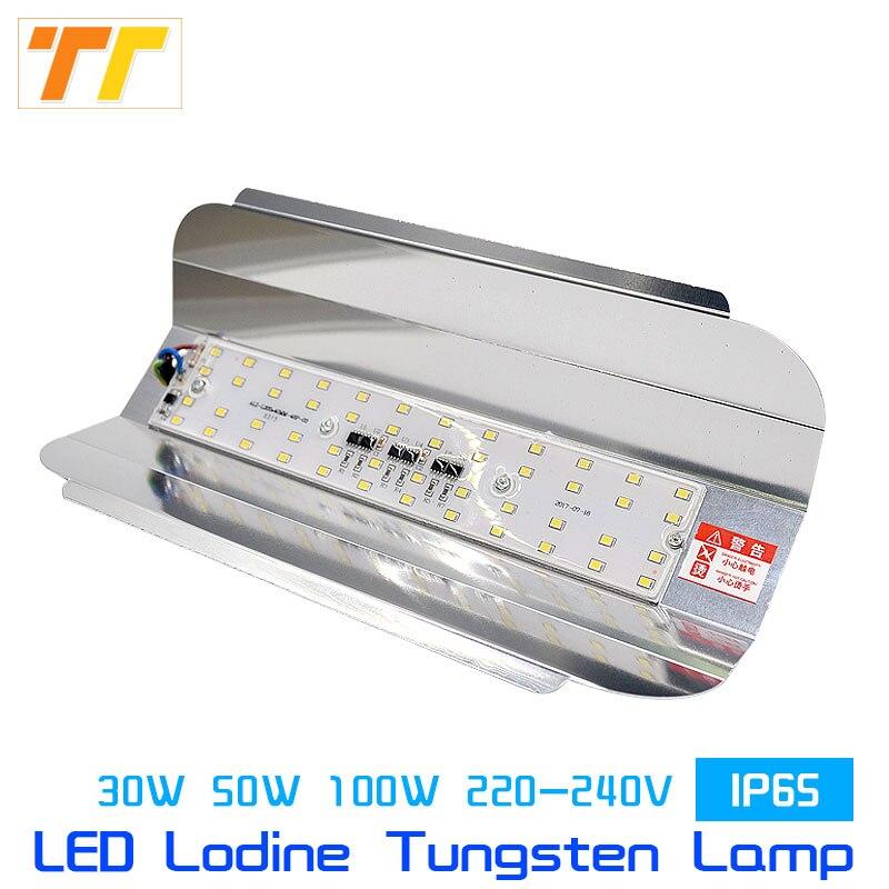 Flutlicht Led Lodine Wolfram Flutlicht 50 Watt 100 W Flutlicht 220 V Led-strahler Refletor Led Außen Beleuchtung Garten Lampe Wasserdicht