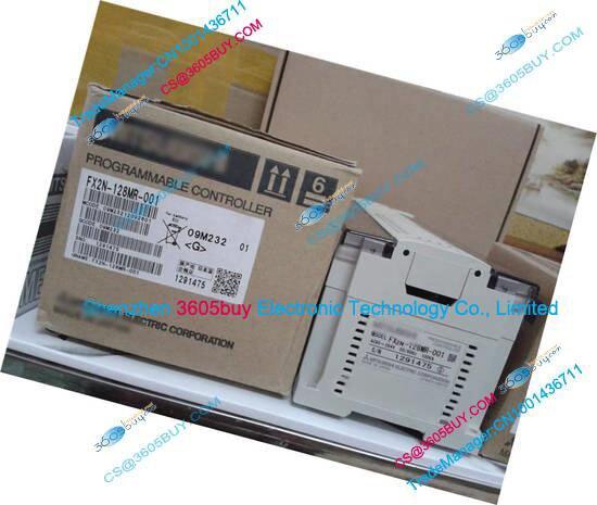 New Original FX2N-128MR-001 PLC Main Unit DI 64 DO 64 Relay AC 220V