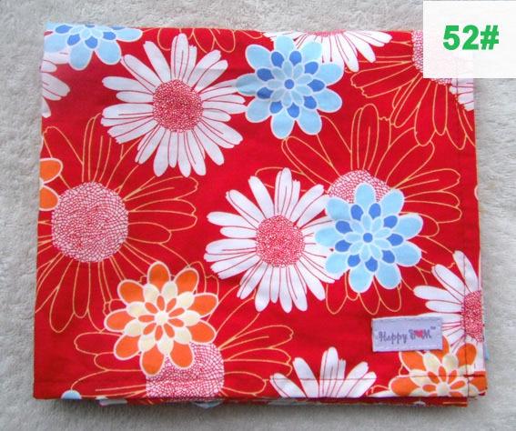 Крышка для грудного вскармливания, дышащая хлопковая муслиновая ткань для кормления, крышка для кормления - Цвет: 52