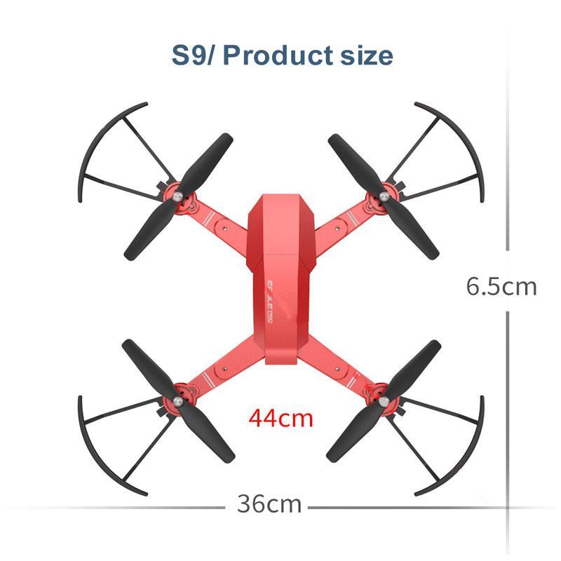 Wifi самолет Selfie Live стабилизация высоты Интеллектуальный оригинальный Hover 3D флипс Квадрокоптер Профессиональный беспилотник - 4