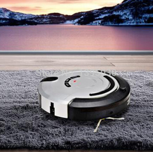 26W Robot Vacuum Cleaner Household Cleaning Ultra-Thin Smart Efficient Automatic Planned Type Mopping Sweeping Dust KRV209