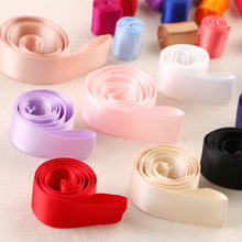 "1"" 25mm Double Face Satin Ribbons DIY Handmade Baby Girl Headband Hairclip Earrings Accessories White Blue Purple Pink Ribbon(China)"