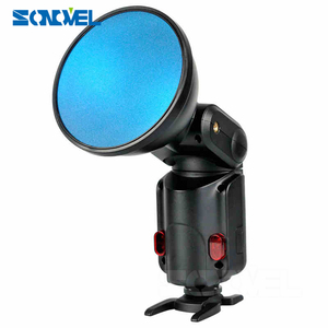 Image 5 - Godox Ad S11 Witstro Flash Speedlite Accessories Godox Ad200 Ad180 Ad360 AD360IIFilter with for Color (Red, Blue, Green, Yellow)