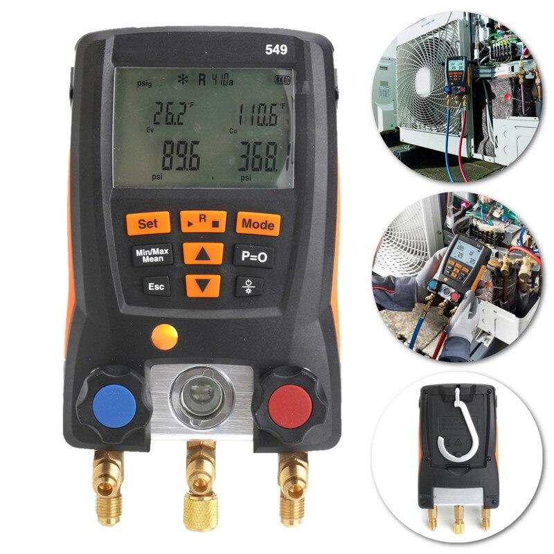 Refrigerantion Digital Manifold Gauge Helps Refrigerat Service Gauge System Meter Precise Measurement For HVAC 0560 0550