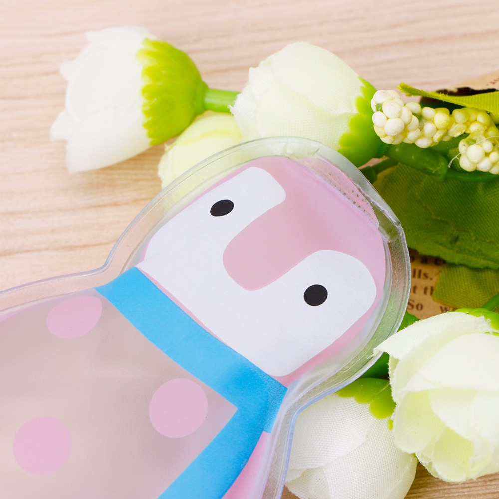 THINKTHENDO 1Pc Cute Penguin Shaped Thicken Gel Reusable Cool Ice Pack High Care Pain Relief New