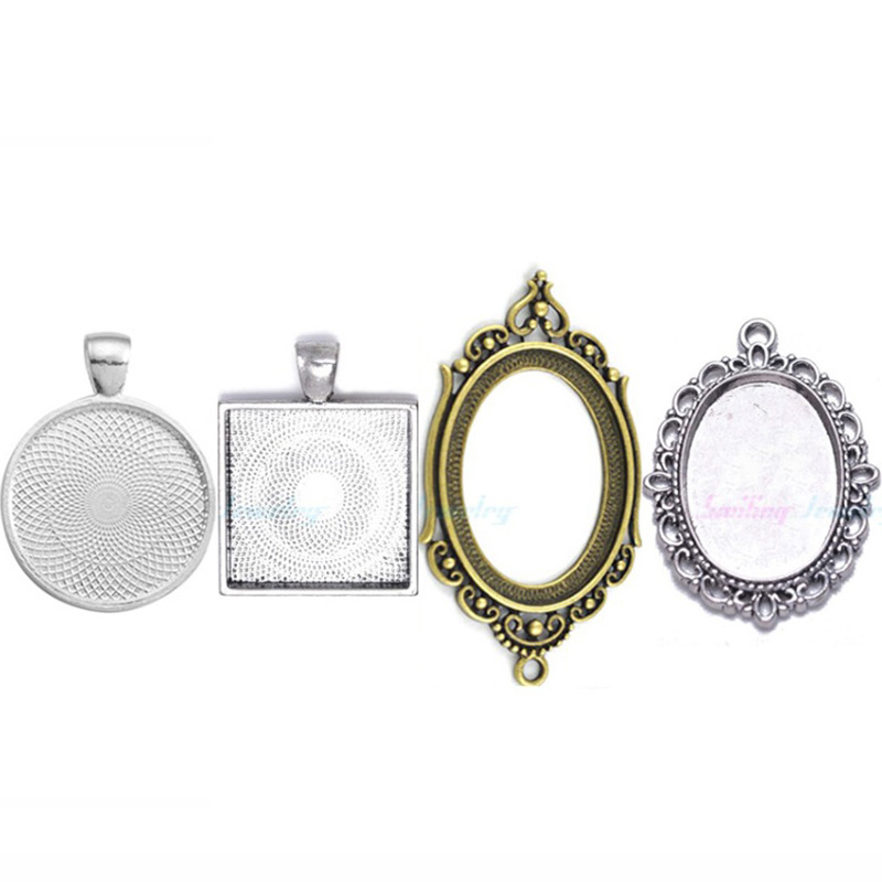 Aliexpress.com : Buy 10pcs Cameo Resin Glass Cabochon Base