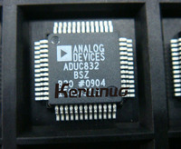 10pcs/Lot ADUC832BSZ ADUC832 AD832 MCU Microcnvtr w/ Built In 12B ADC Dual DAC MQFP52 NEW IN STOCK