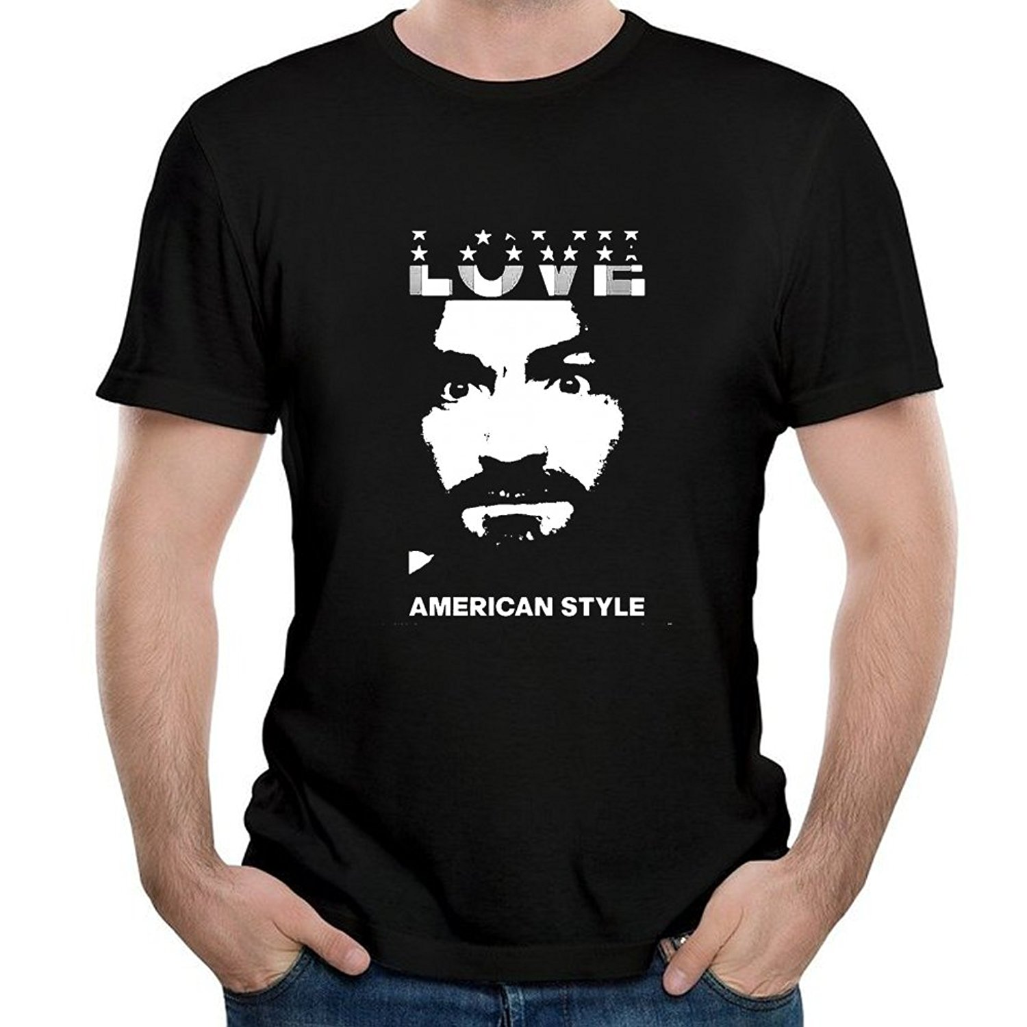 Latest Fashion Tshirt Streetwear Tee Comfortable T Shirt Men's Charles Manson Short...