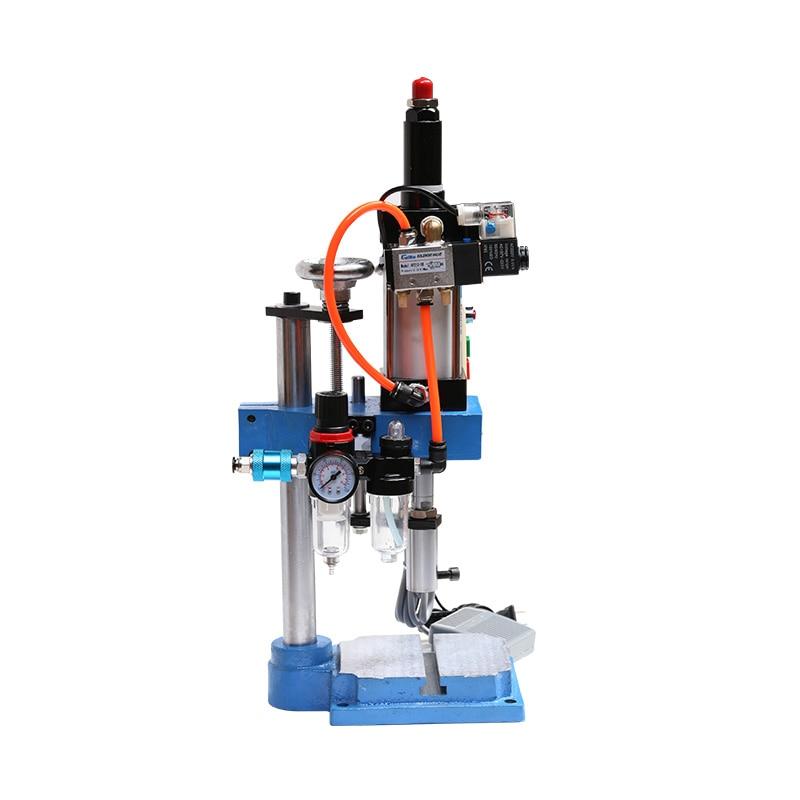 Pneumatische Stanzen Maschine Handpresse Maschine Einstellbaren Kraft 200 KG Pneumatische Puncher 110 V/220 V Einzelnen Spalte JNA63
