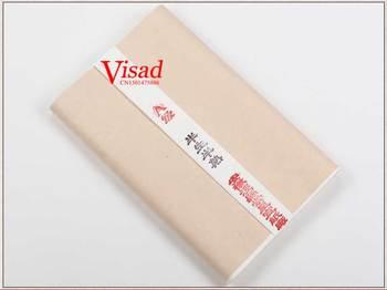 Wysokiej jakości chiński papier Xuan artysta płótno do malowania kaligrafii ręcznie dokonać zwykły biały papier tanie i dobre opinie Malarstwo papier Chińskie malarstwo TAI YI HONG VD-BP-00126 50 sheet pack 48*180 cm half- cooked White