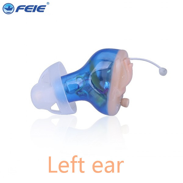 FEIE Micro Ear CIC Invisible Hearing Aid Cheap Digital Programmable Ear Listen Devices 8 Channel Hearing Amplifier S-17A feie company digital programmable mini in ear hearing amplifier cic aparelho auditivo invisivel s 12a online sale