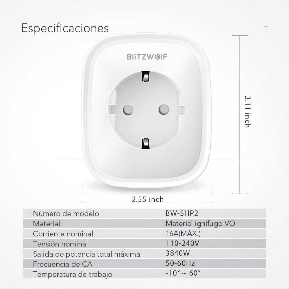 BlitzWolf BW-SHP2 Wifi