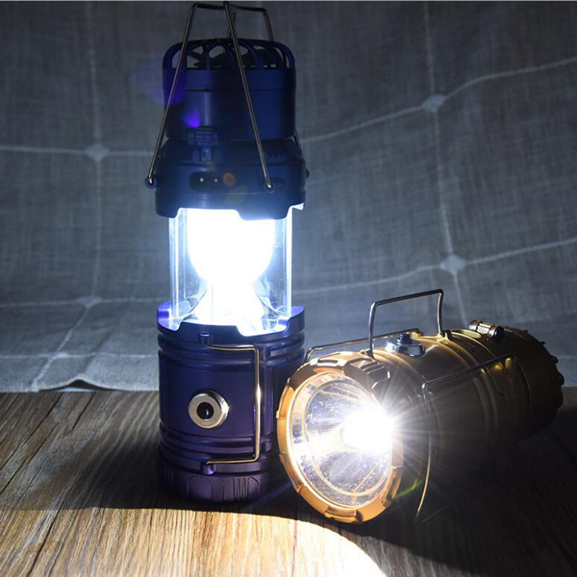 LED Portable Lanterns Night Light 6 LED Solar Power Fan lamp Collapsible Outdoor Rechargeable Hand Flashlights Hiking Camping new 3 in 1 digital led car voltmeter thermometer auto car usb charger 12v 24v temperature meter voltmeter