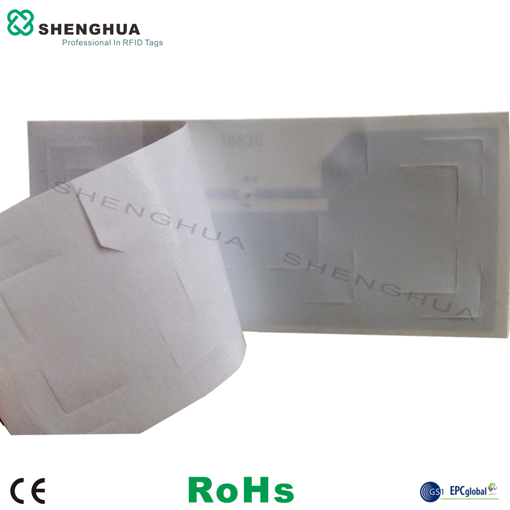 200pcs/box 860-960mhz UHF Passive Tag ISO18000-6C Long Range UHF RFID Windshield Label Tag