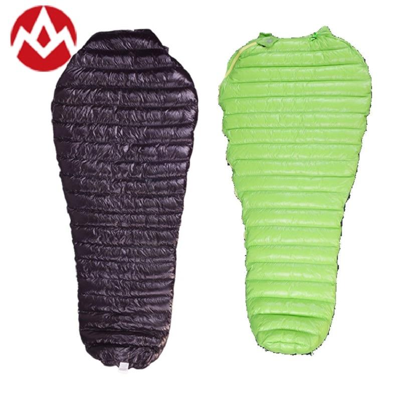 AEGISMAX Outdoor Camping Sleeping Bag Adult Ultralight Naturehike Goose Down MINI single mummy warm weather Sleeping Bags