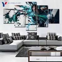 الحديث الفني 5 لوحة قماش مطبوع يعكس حافة 2 الإيمان كونورز ديكور المنزل ل غرفة المعيشة صورة جدار الفن الطلاء