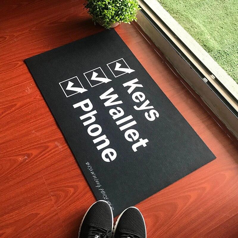 paillasson en caoutchouc sur mesure porte cle amusant pour telephone tapis d entree de bienvenue pour porte d entree