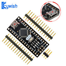 Nano V3.0 pour Arduino, Keywish Micro USB, ATmega328P 5V 16M CH340 Nano Board, matériau d'origine de carte PCB de haute qualité, or d'immersion(China)