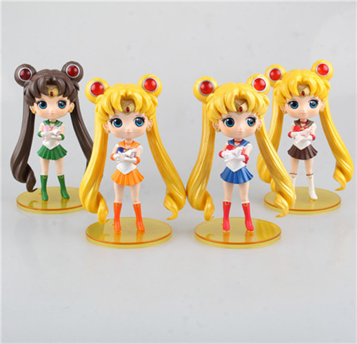 <font><b>New</b></font> 1PC 15cm Cute <font><b>Anime</b></font> <font><b>Sailor</b></font> <font><b>Moon</b></font> Figures <font><b>Tsukino</b></font> <font><b>Usagi</b></font> with Short Skirt <font><b>PVC</b></font> Action Figures Toys Collectible Model Toys