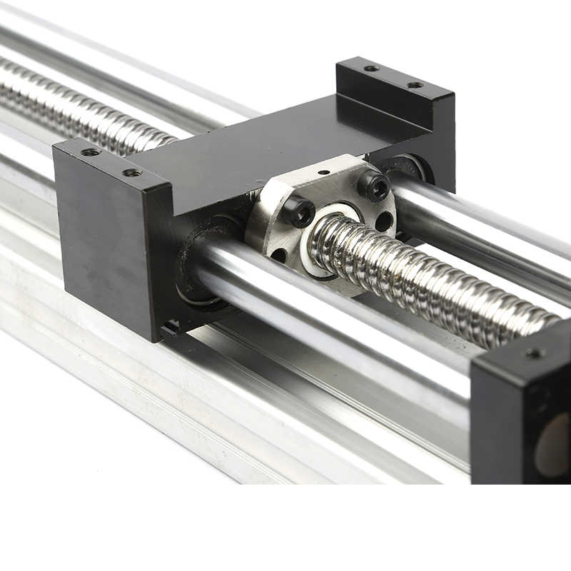 SFU1605-400mm Linear Guide Rails Linear Actuator System Module Table 400mm Travel Length Cnc Guide SFU1605 Ballscrew Slidingv