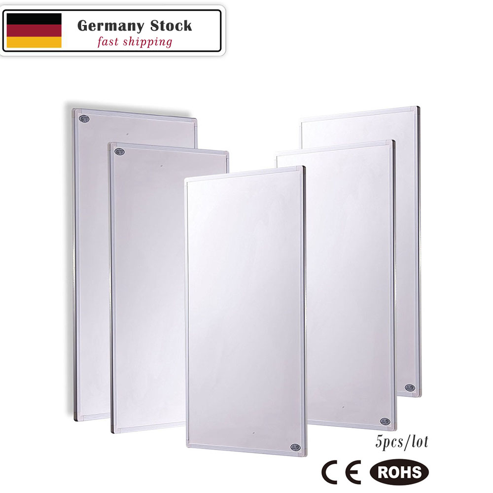 2250W Infrared Heating Panels Carbon Crystal IR Panel (5X450W per Units) Germany Stock eco art cheapest infrared heater infrared heating panels 300w radiant heater for wall mounted carbon crystal heating panels