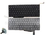 FR French Keyboard For APPLE Macbook Pro A1286 BLACK For 2008 With Backlit Board Azerty Laptop
