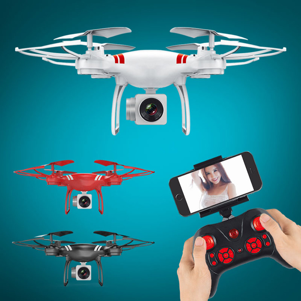 Wide Angle Lens HD Camera Quadcopter RC Drone WiFi FPV Live Helicopter Hover Drone Profissional Drones With Camera Hd Brinquedos