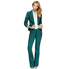 Dashiki clothes women print suits blazers with trousers Ankara fashion pant customized African wedding outfits