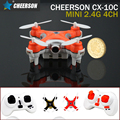 Mini Quadcopter Cheerson CX-10C Remote Control HeliCopter Drones With Camera Rc Hexacopter Professional Drones Micro Dron