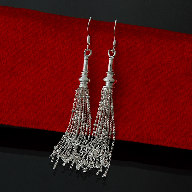 Wholesale  fashion jewelry ,925 Silver earrings  . Nice Jewelry. good quality   FE0024