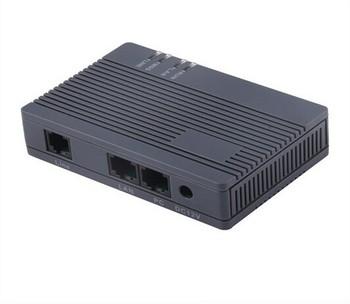 2018 FXS VoIP Gateway HT-912T H 323-dwa porty Ethernet T-NAT wysokowydajny i ekonomiczny analogowy Adapter Termianl VoIP tanie i dobre opinie Brama VoIP YANHUI 14*17*6 5 0 35kg Black ARM9 300MHZ