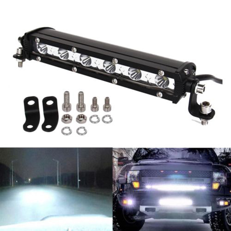 18w Motorcycle Lamps Multi-function Off-road Car Lights Daytime Running Light LED Bar Light Work Lights led aluminium profile