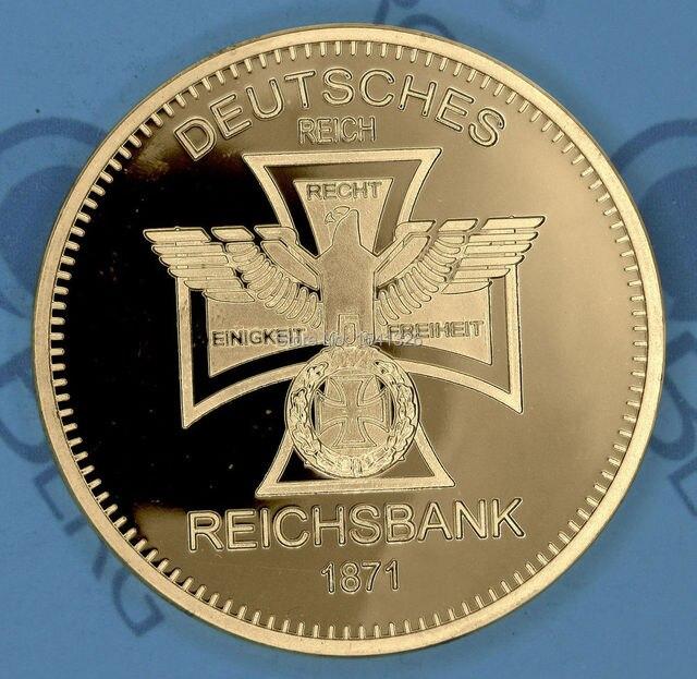 Einzelhandel 2 Teilelos 24kt Bullion Deutsch Münze 24 Karat Gold