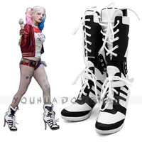 Harley Quinn Shoe Cosplay Suicide Squad Harley Quinn Costumes Halloween Costumes For Women