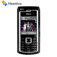 N72 오리지널 nokia n72 모바일 핸드폰 & 러시아어 아랍어 키보드 & 1 년 보증 무료 배송