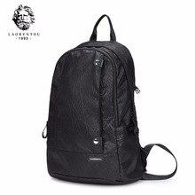 Laorentou Новые поступления Оксфорд рюкзак для мужчин Ноутбук Повседневный Черный Рюкзак деловые сумки большой Ёмкость школьная сумка N50