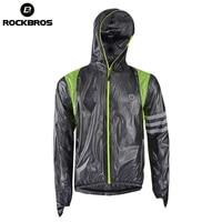 ROCKBROS Waterproof Jersey Raincoat Hiking Outdoor Sport Jacket Reflective Keep Warm Bicycle Men Cycling MTB Windproof