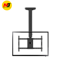 Hot Selling T3260 Full Rotating height Adjustable 40-65 Ceiling TV Mount Bracket LED LCD Monitor Holder