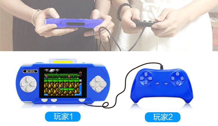 New Portable Handheld Game Players Gaming Consoles Built In 298 Classic Games For Kids Best Gift Video Game Top Quality