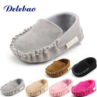 2018 New Design Doug Shoes For Newborn Handmade Sewing Baby Shoes