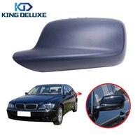Левая сторона зеркало заднего вида крышка заднего вида двери крыло шапки Чехол для BMW E46 E65 E66 323 328 330 745 750 760 # W031-1