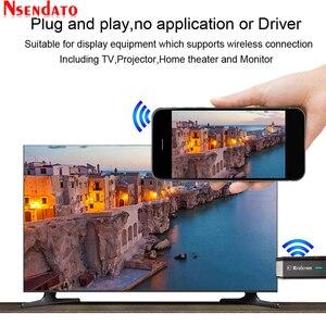 Image 4 - Двухдиапазонный 5G/2,4G 1080P Беспроводной Miracast DLNA AirPlay HDMI медиа ТВ приемник Wi Fi Дисплей зеркального отображения Экран ТВ палка