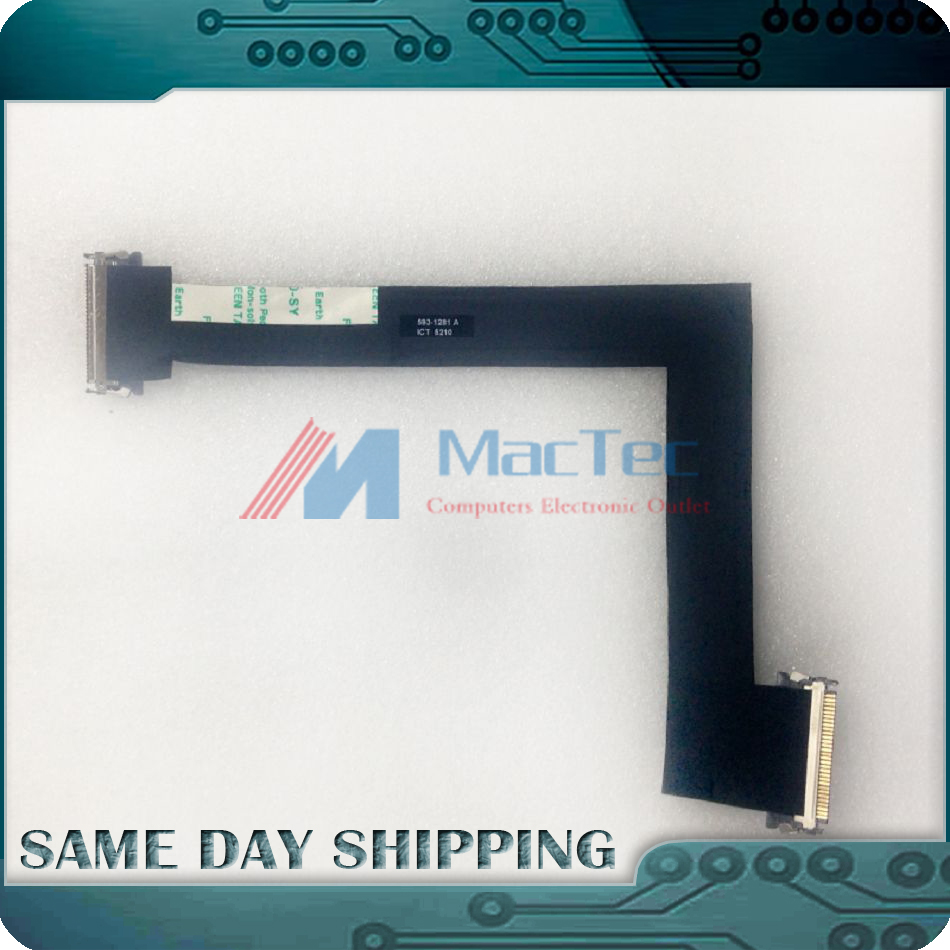 NEW 922-9168 593-1281 593-1028 for Apple iMac 27 A1312 LCD LED LVDS Screen Display VGA Video Flex Cable Late 2009 Mid 2010 Year
