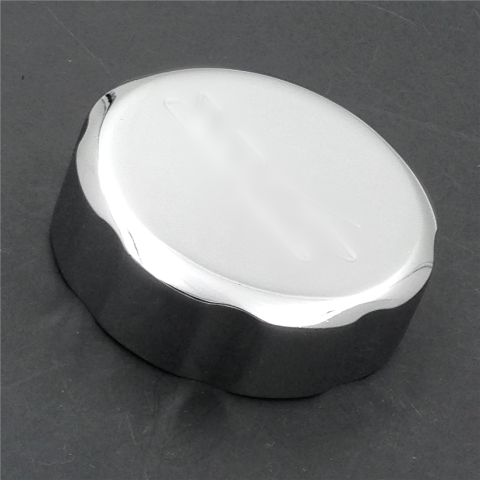 Aftermarket free shipping motorcycle <font><b>parts</b></font> Chrome Brake Fluid Reservoir Cap For 92-12 <font><b>Suzuki</b></font> <font><b>GSXR</b></font> 600/88-12 <font><b>GSXR</b></font> <font><b>750</b></font> image