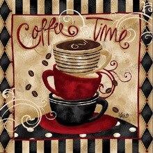 цена на Coffee Cups Drill Resin Ribbon Mosaic 5D Diy Embroidery Diamond Painting 3D Cross Stitch Kits full wall sticker room decorations